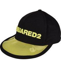 dsquared2 pvc baseball cap