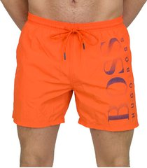 hugo boss octopus zwemshort oranje