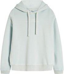 closed frosted mint hoodie