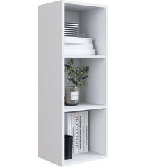 nicho parede vertical organizador multiuso funcionale branco artinmã³veis - branco - dafiti