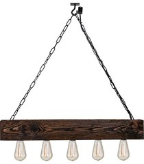 lampa wisząca balzan loft drewno