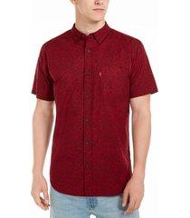 levi's men's mini-floral shirt