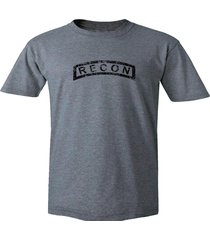 us army recon distressed look military reconnaissance gray 100% cotton t shirt