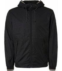 jacket short fit hooded