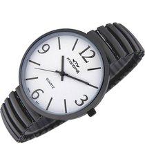 reloj negro montreal elastizado