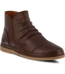 spring step gaspare bootie, size 8.5us in brown leather at nordstrom