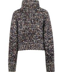 brunello cucinelli turtleneck knitted sweater