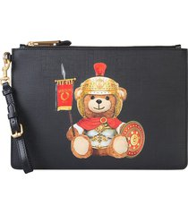 moschino designer handbags, roman teddy bear pouch