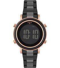 relógio technos digital feminino