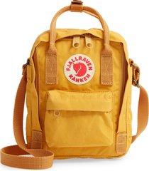 fjallraven kanken sling shoulder bag - yellow