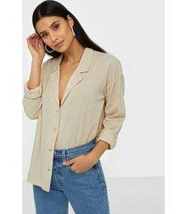 nly trend soft blazer shirt skjortor