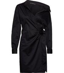 karyda dress kort klänning svart guess jeans