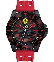 reloj ferrari modelo xx kers rojo hombre