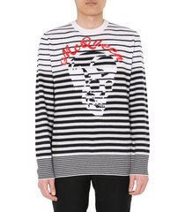 alexander mcqueen crew neck sweater