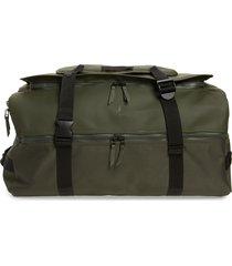 men's rains waterproof large travel backpack - green