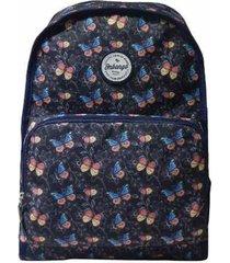 mochila de costas onbongo dupla face onm188502 azul