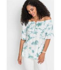 blouse met batikprint
