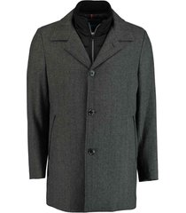 bos bright blue geke coat 19301ge01bo/980 antra