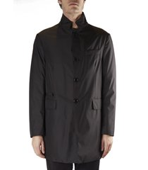 fay padded coat in technical fabric