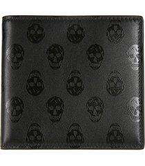 alexander mcqueen 8cc skull wallet