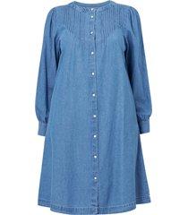 klänning xcury l/s denim dress