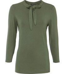 maglia con fiocco (verde) - bodyflirt