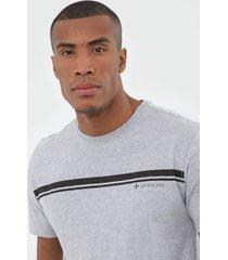 camiseta dudalina listras cinza - kanui