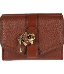chloé small tri fold wallet