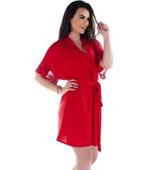robe ayron fitness vermelho - vermelho - feminino - poliã©ster - dafiti