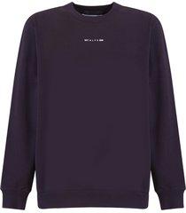 1017 alyx 9sm sweatshirt logo printed