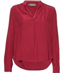 tarin blouse blouse lange mouwen rood mos mosh