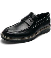 zapato casual mocasin azul pierre cardin pc8663-c