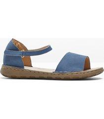 sandali in pelle (blu) - bpc selection