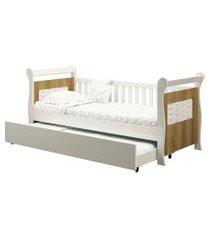 bi-cama cherry branco fosco/mezzo reller móveis