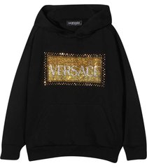 young versace black sweatshirt