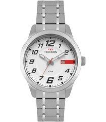 relógio technos masculino racer - 2115mow/1b 2115mow/1b