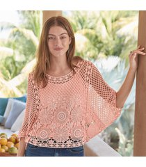crush on crochet top