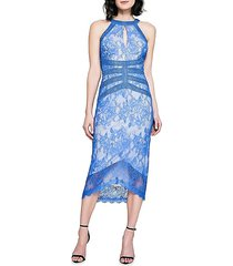 atlantis halter lace dress