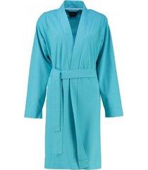 lago badjas 815 uni kort kimono women turquoise