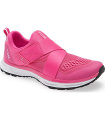 tiem slipstream cycling sneaker, size 10.5 in vivid pink at nordstrom
