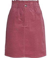 simonie skirt 13000 knälång kjol rosa samsøe samsøe