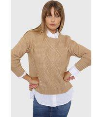 sweater camel laila paola