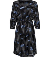 karlin dress jurk knielengte blauw soft rebels