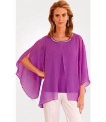 blouse mona fuchsia