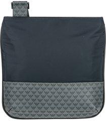 emporio armani logo crossbody bags