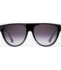 mk occhiali da sole barrow - nero/bianco (nero) - michael kors