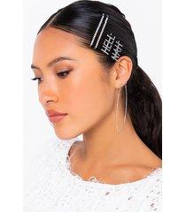 akira hell nah hair clip set