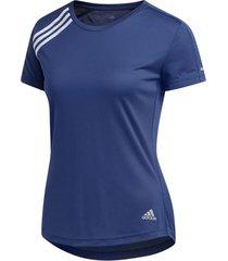 camiseta para mujer adidas run it tee 3s