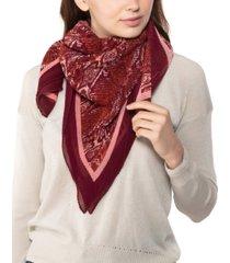 giani bernini snake-print pleated square scarf, created for macy's
