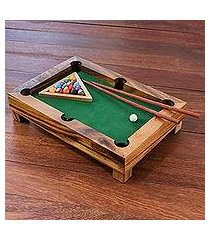 wood mini billiards game, 'best of billiards' (thailand)